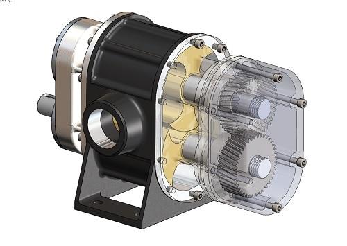 پروژه طراحی کمپرسور هیدروژنی با solid works