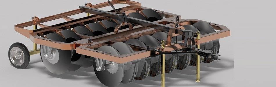 پروژه طراحی دیسک ۱۶ پره افست در سالیدورک