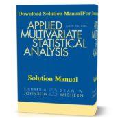 آرشیو مطالب سایتsolution manualapplied multivariate statistical analysis 6th edition solutions manual