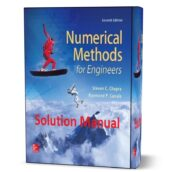 numerical methods for engineers by steven chapra 6th & 7th edition solution manual ( chapter solutions ) eBook pdf