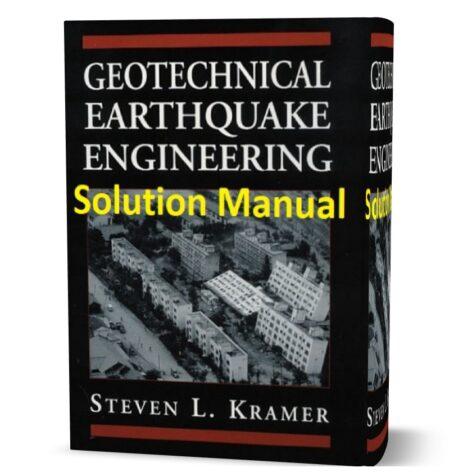 geotechnical earthquake engineering Kramer solution manual pdf