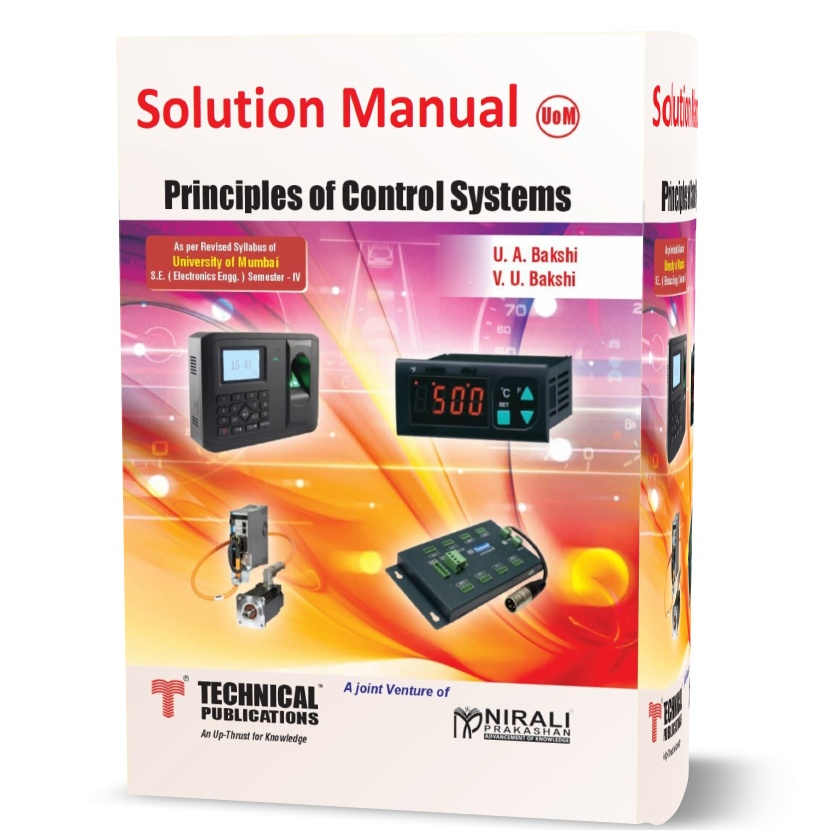 Principle of Control System solution manual written by Bakshi eBook in pdf format